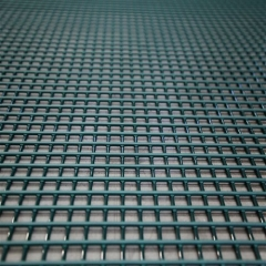 Tensioned polyurethane screen mesh